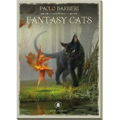 Книга «Книга Фантастические кошки Барбьери»
