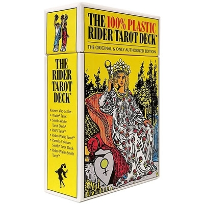The 100% Plastic Rider-Waite® Tarot