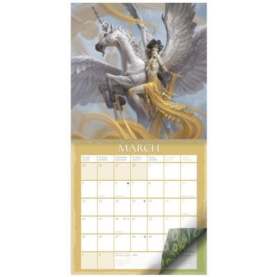 Единороги календарь 2020