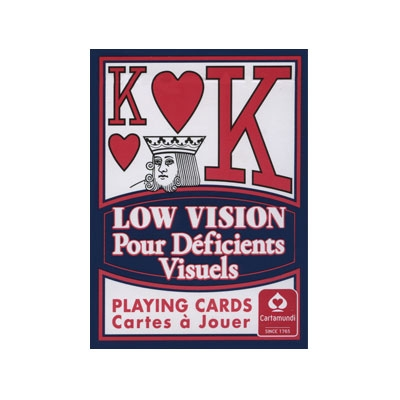 "Low Vision ""New Sight"" Poker Deck"