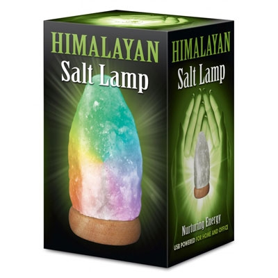 Соляная лампа натуральная