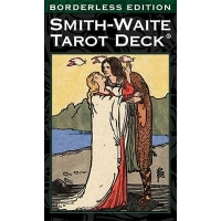 Smith-Waite Tarot Deck Borderless / Смит-Уэйт Борделес Таро