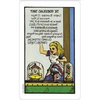 The Wonderland Tarot in tin