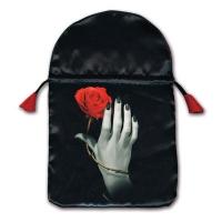 Роза в руке (шелкография)