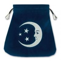 Мешочек Улыбка Луны  (шелкография)