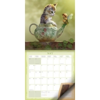 Календарь Фантастические кошки на 2019 год