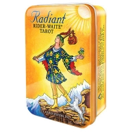 Radiant Rider-Waite© Tarot deck Tin/мини в жестяной коробочке