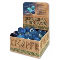 Руны из Голубого оникса + коробочка